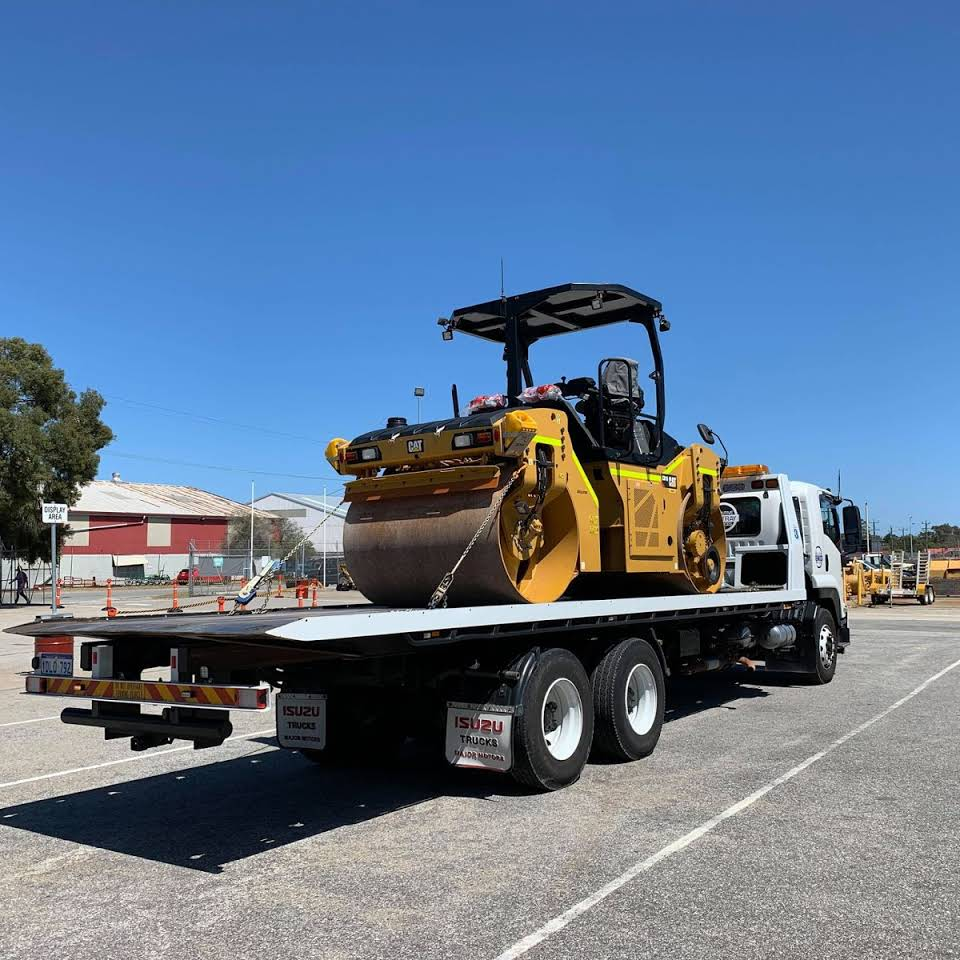 Roller Machinery on Tilt Tray Perth