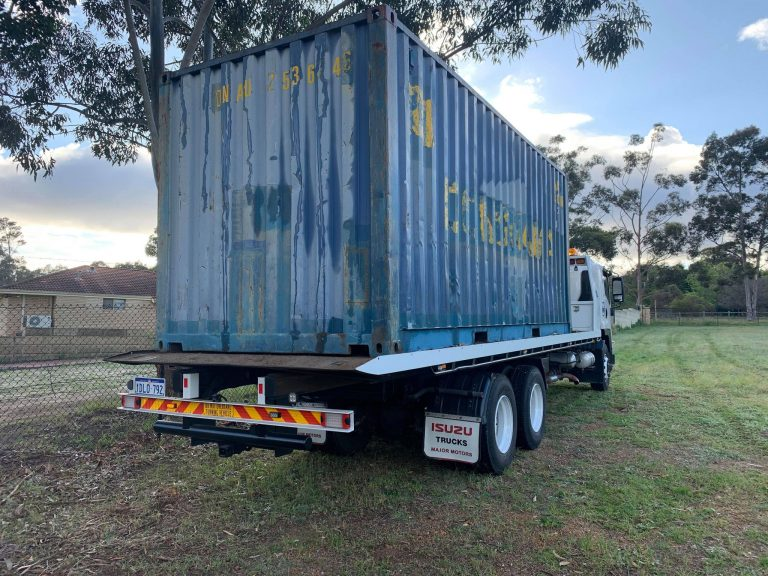 Tilt Tray Container Transport Perth